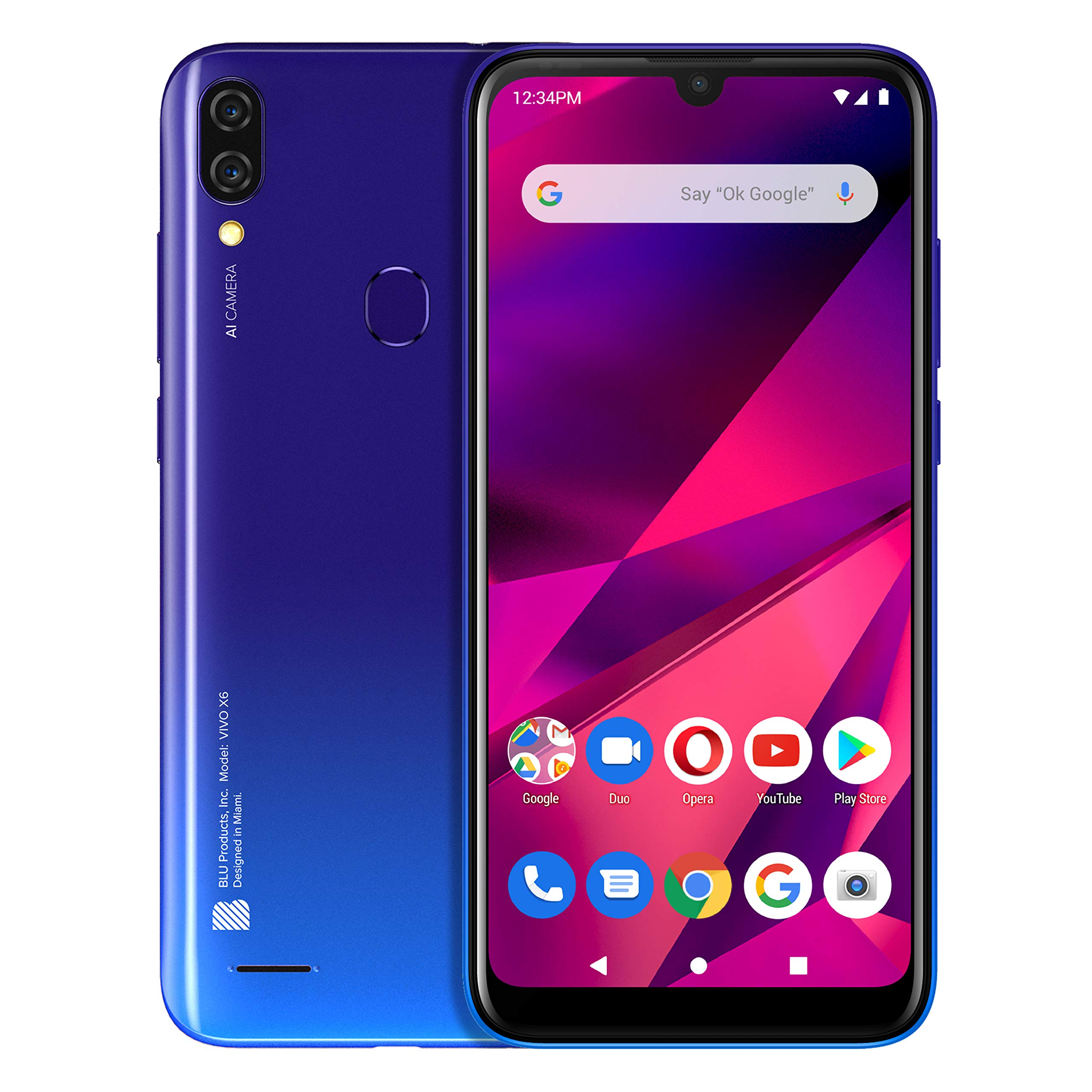 blu-vivo-x6-61-hd-display-64gb3gb-ram-gradient-blue