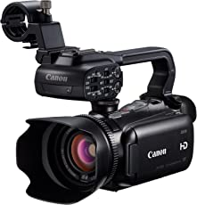 Canon XA10 Professional Camcorder with 10x HD Video Lens, 8-Blade Iris, Full Manual Control, 64GB Internal Flash Memory