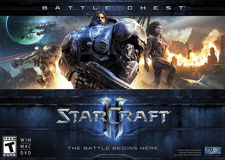 Amazon com: Starcraft II: Battle Chest [Online Game Code