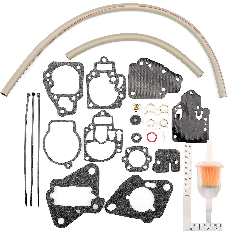 iFJF Carburetor Repair Kit for Mercury Marine Replaces 1395-97611 1395-9645 1395-9761 1395-9377 1395-9179 1395-9803 1395-9725 1395-811357