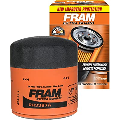 FRAM PH3387A Extra Guard Passenger Car Spin-On Oil Filter: Automotive