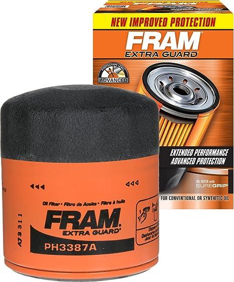 Amazon.com: FRAM Guard Filtro de aceite giratorio para coche ...