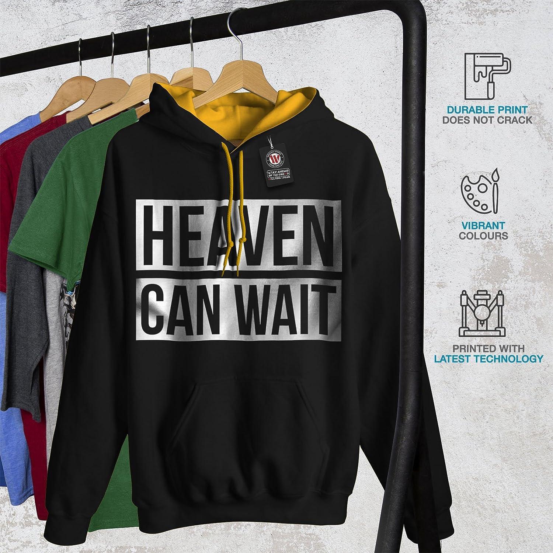 Saracstic Casual Jumper wellcoda Drop Everything Mens Sweatshirt