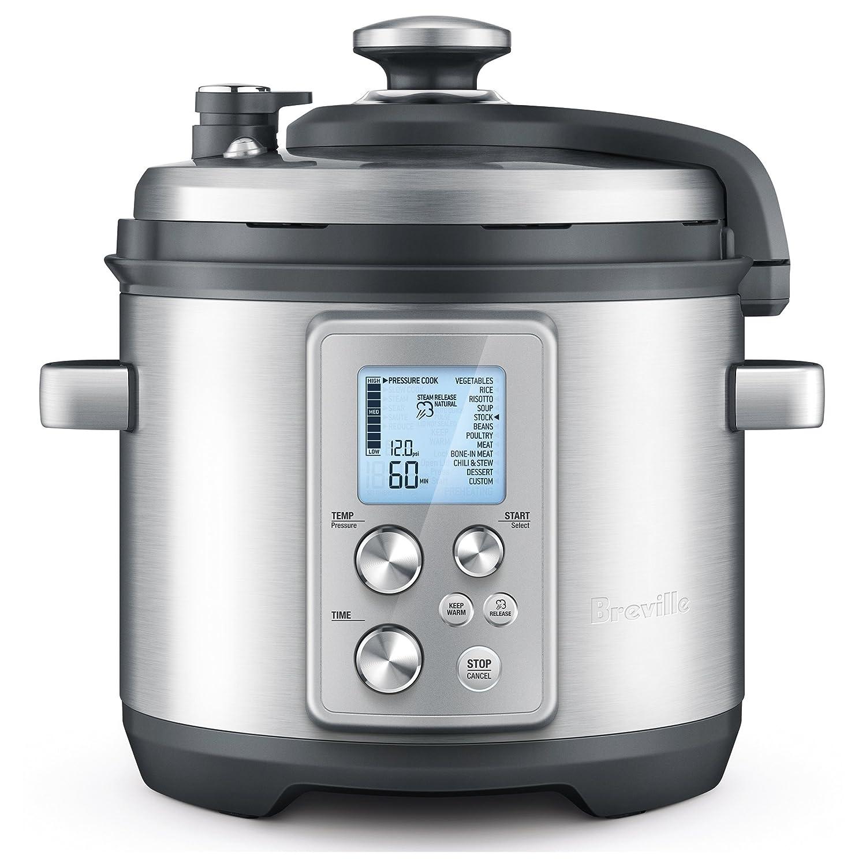 Breville RM-BPR700BSS Electric Pressure Cooker 6 Quart Silver