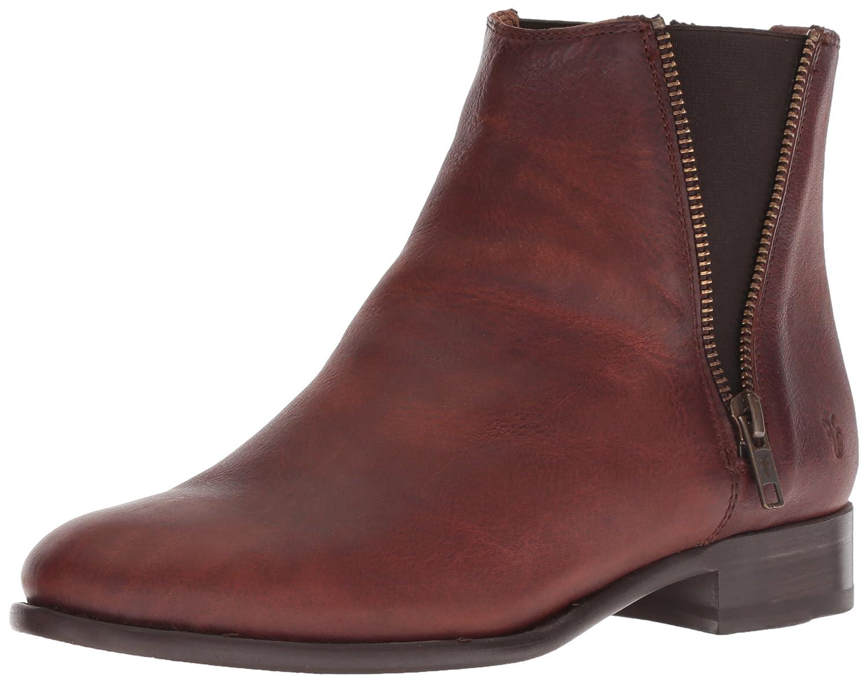 FRYE Women's Carly Zip Chelsea Boot B077XPBB2Y 6.5 M US|Cognac