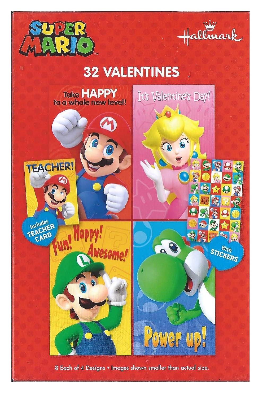 Super Mario Valentines Cards