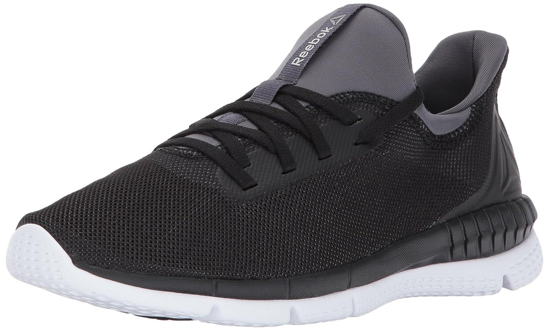 Reebok Women's Print Her 2.0 Track Shoe B01N0XL6DE 6 B(M) US|Black/Ash Grey/White