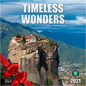 Timeless Wonders - 2021 Hangable Wall Calendars by Red Ember Press - 12