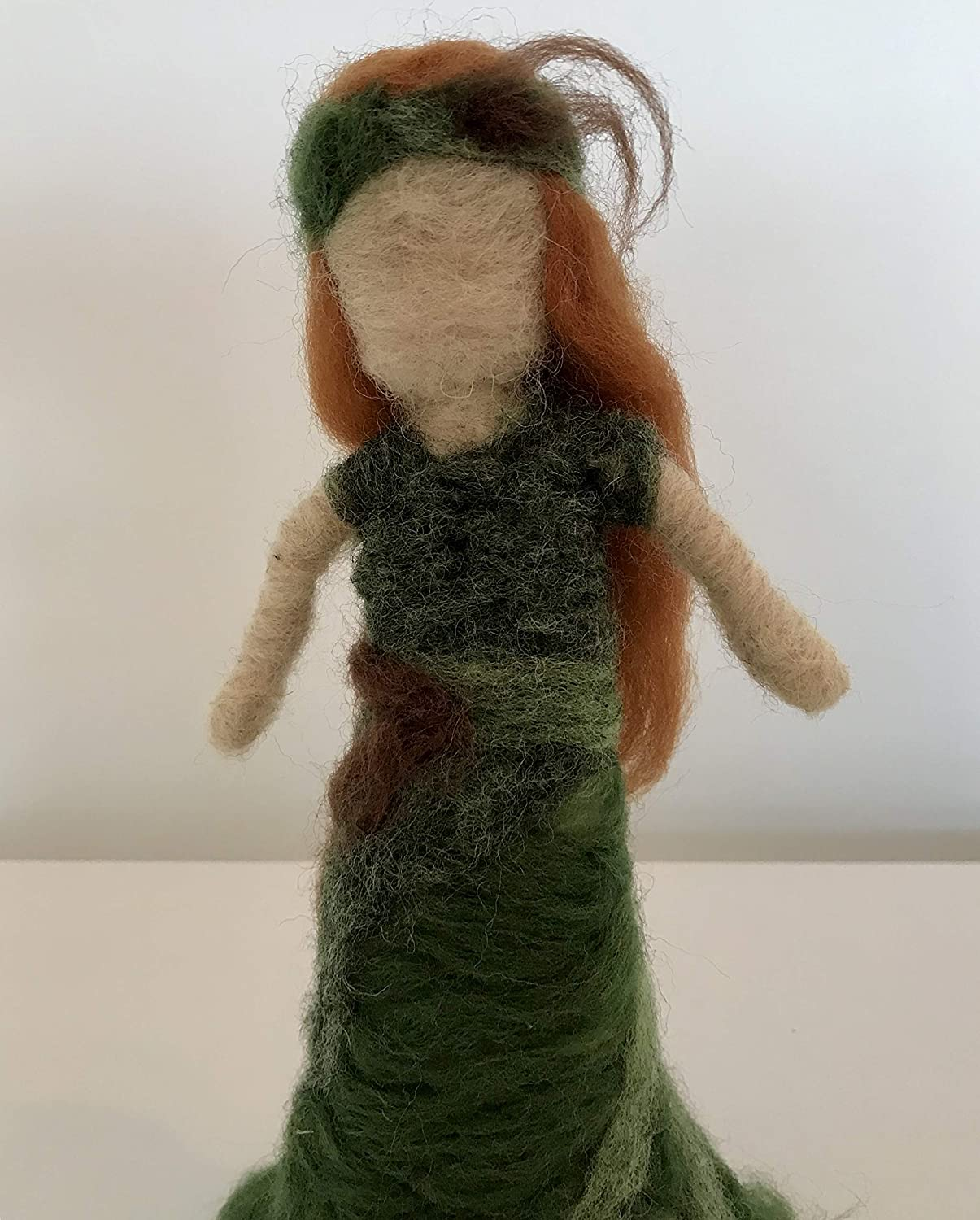 Forest Felted Doll