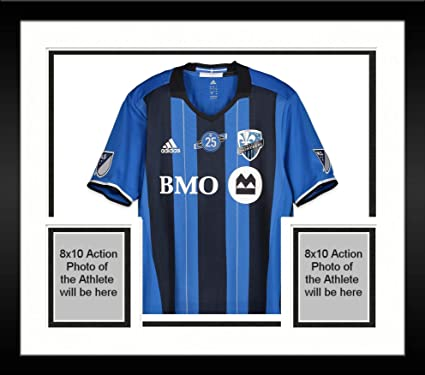 various colors 393fd ef2b2 Framed Rod Fanni Montreal Impact Autographed Match-Used Blue ...