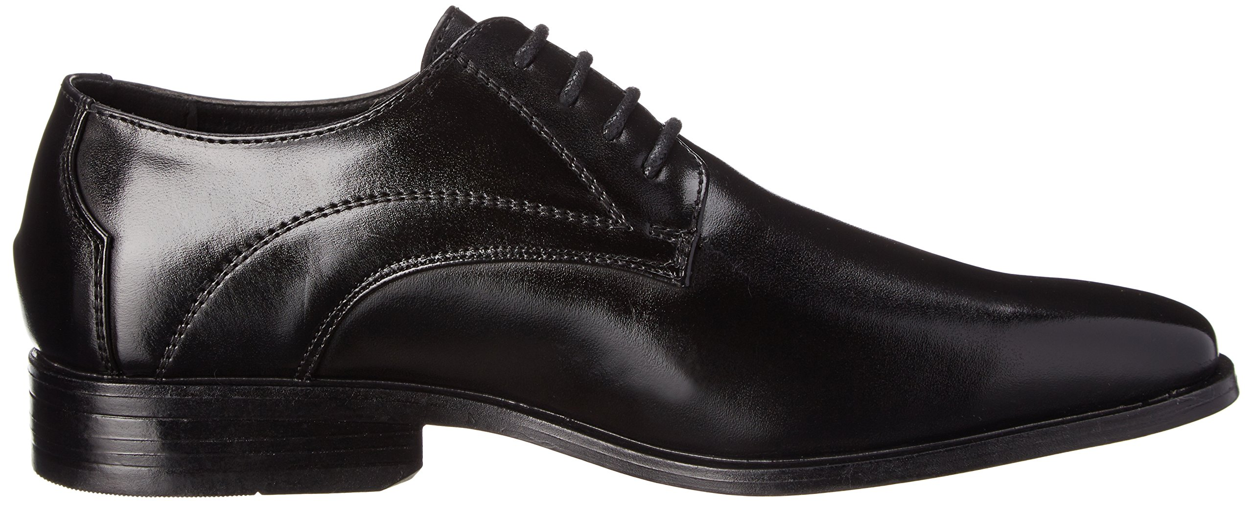 Stacy Adams Carmichael Plain Toe Lace-up Uniform Oxford Dress Shoe (Little Kid/Big Kid),Black,4 M US Big Kid by STACY ADAMS (Image #7)