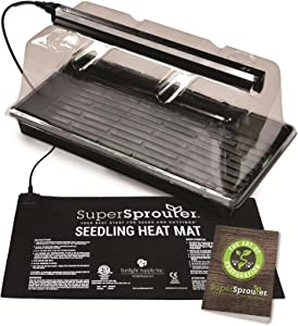 "Super Sprouter Premium Propagation Kit w/ 7"" Dome & T5 Light"