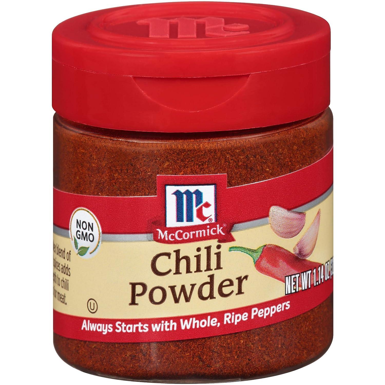 Amazon Com Mccormick Chili Powder 1 14 Oz Grocery Gourmet Food