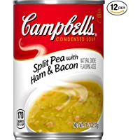12-Pack Campbell's Condensed Soup Split Pea with Ham & Bacon 11.5 Ounce