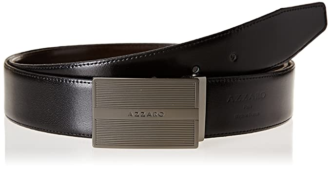 Azzaro Z1391345 - Ceinture - Homme - Multicolore (Noir Marron) - FR ... a670a2cf8be
