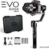 EVO Rage Gen2 3 Axis Gimbal for DSLR & Mirrorless Cameras - Stabilizer Works with Sony A7S II, Panasonic GH4 GH5, and most cameras 350g to 1800g | 1 Year US Warranty & Support
