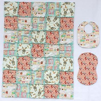 Amazon.com: Cute Bosque Bebés Con telas de coordinación ...