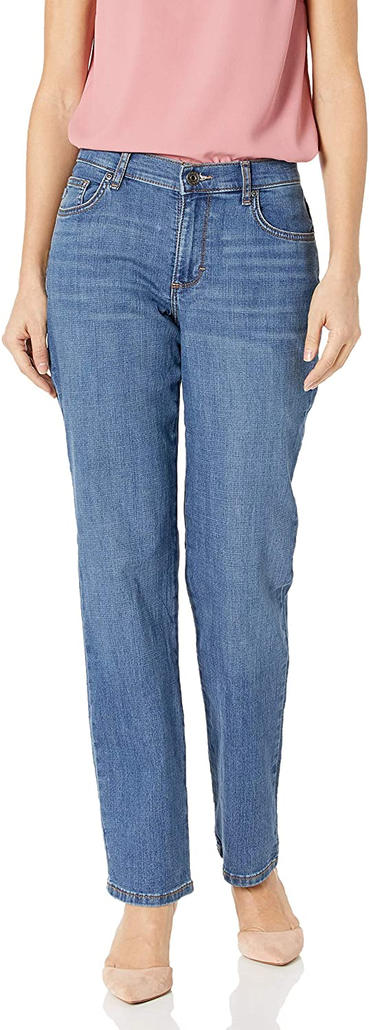 Lee Women's Relaxed Fit Straight-Leg Jean: Clothing