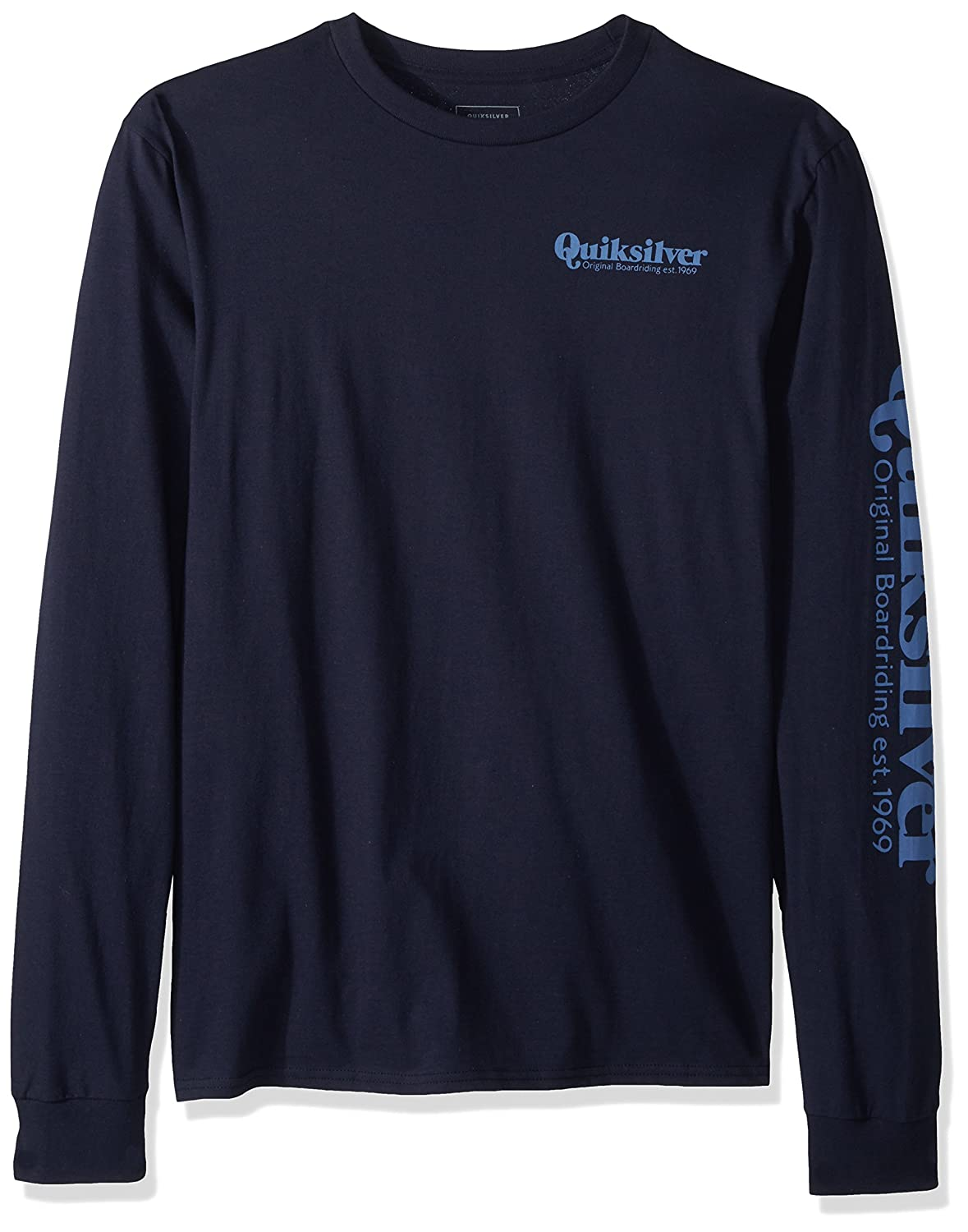 Quiksilver Mens Twin Fin Mates Long Sleeve Tee