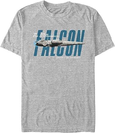 Millenium Falcon Inspired Han Solo Chewbacca Movie Film Wars Mens T Shirt