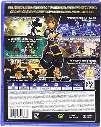 Kingdom Hearts HD 1.5 + 2.5 Remix: Amazon.es: Videojuegos