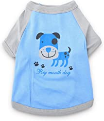 ef61055b1c51 Alroman Dog Shirts Cats Shirts Pet Shirts Dog Clothes Dog T Shirts Puppy  Clothes Dog Apparel