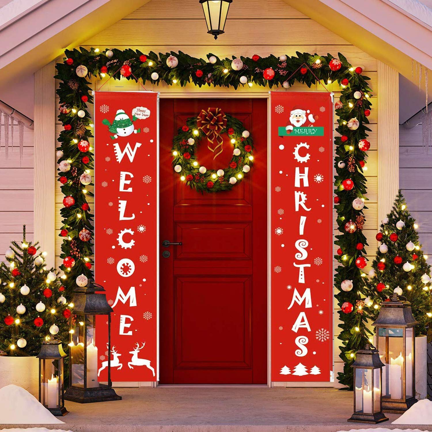 Christmas Door  Banners