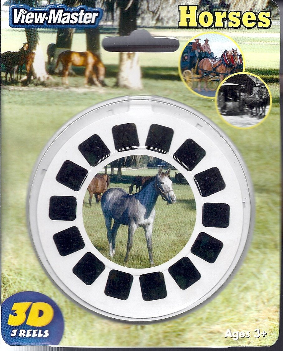 ViewMaster 3 Reel Set HORSES - 21 3D Picture by View Master (Image #1)
