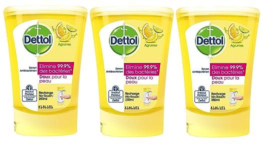 25 opinioni per Dettol Sapone Refill No Touch Citrus 250 ml- Set di 3
