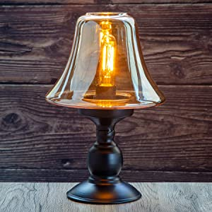 Battery Powered Table Lamps, Cordless Battery Operated Lamps with Timer Function, Decorative Lights with LED Bulb, for Home Decor Living Room Bedroom Tabletop Entryway Patio Gift Events Indoor(Gold)