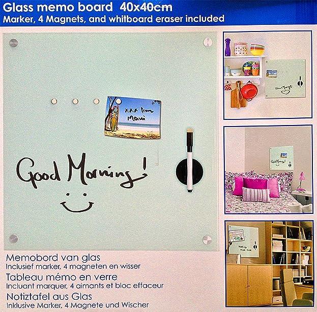Fesselnd Good Fabulous Stunning Glas Memoboard Milchglas Magnettafel Magnet Pinwand  Magnetwand Pinnwand Xcm Amazonde Kche U Haushalt With Magnet Pinnwand Aus  Glas ...