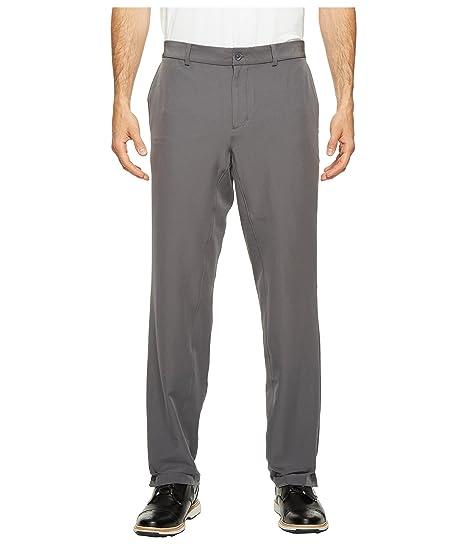 86377606f Nike Flat Front Stretch Woven Mens Golf Pants (Dark Grey/Wolf Grey, 30