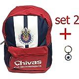 Chivas rayadas backpack school mochila bookbag cinch shoe bag official mexico