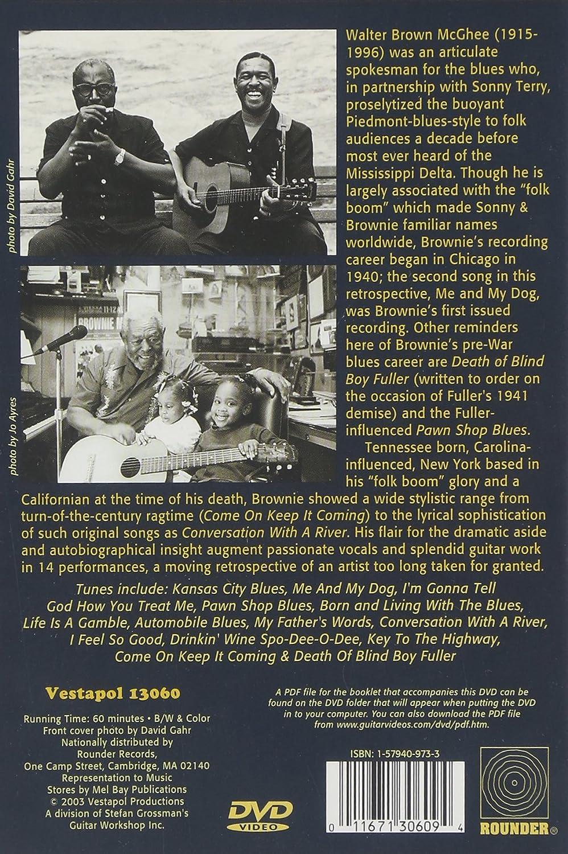 Amazon Com Brownie Mcghee Born With The Blues 1966 1992 Brownie Mcghee Stefan Grossman Movies Tv
