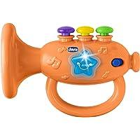 Chicco 00009614000000 - Gioco Tromba Musicale, Arancione