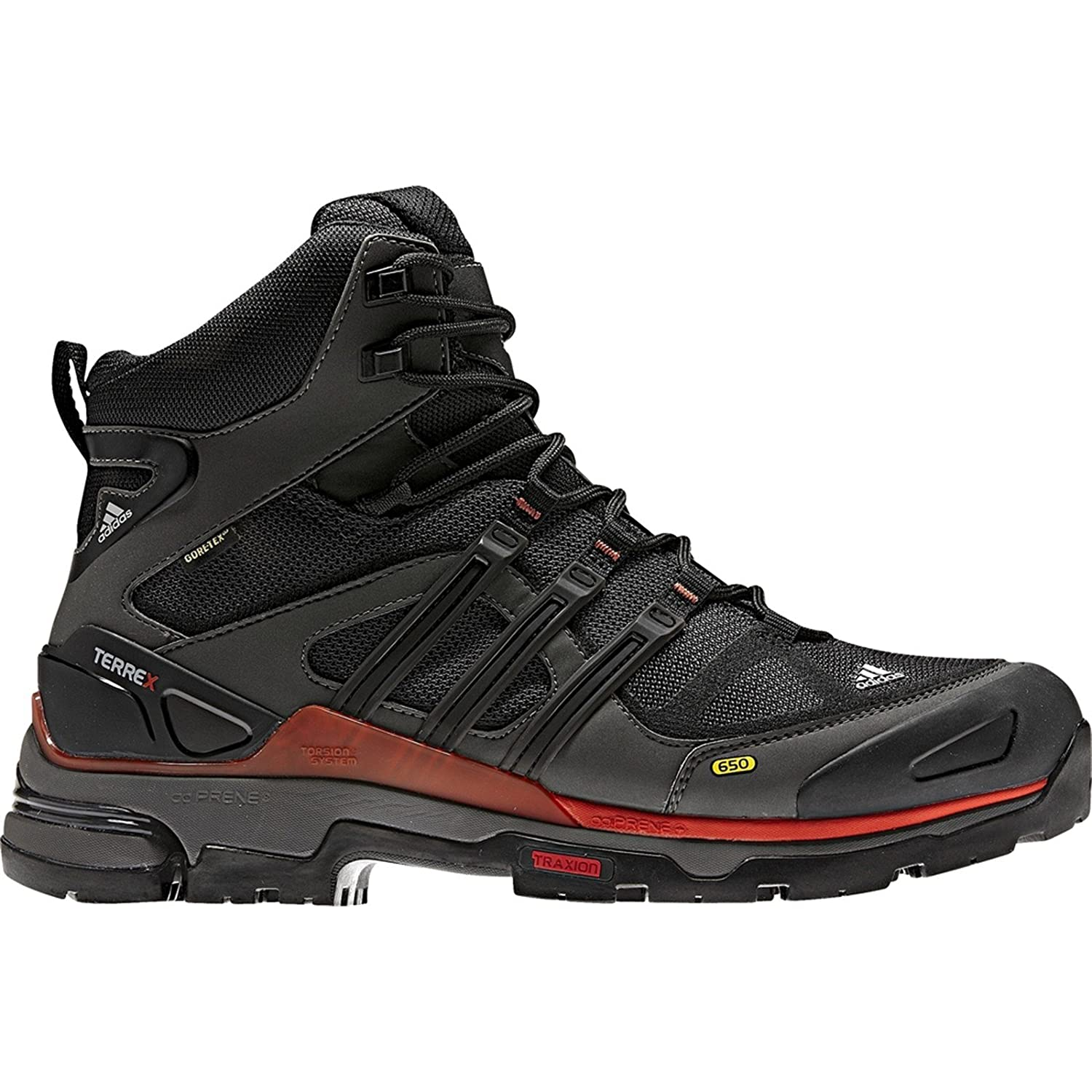 56791f75f1c9 adidas G40606-9.5 Men S Terrex Hike Fm Mid Gtx Shoes Solid Grey 9.5 UK SIZE  8.5  Amazon.co.uk  Shoes   Bags