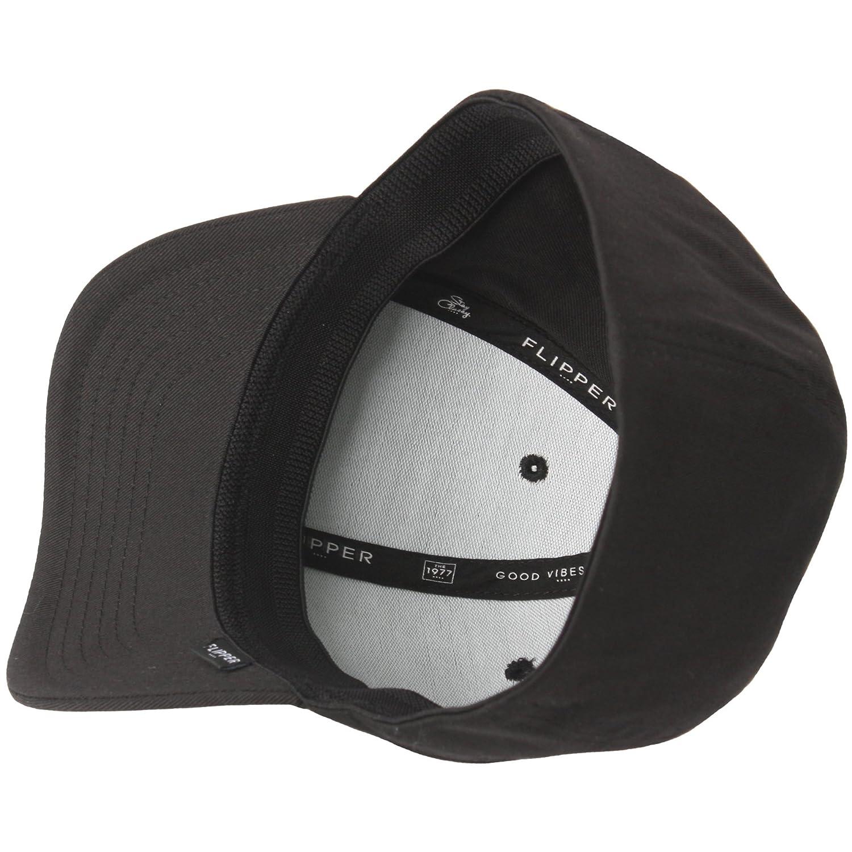 c6951e2cfde RaOn G57 Men Spandex Empty Plus Size XL XXL Flex Big Ball Cap Baseball Hat  Truckers (Black) at Amazon Men s Clothing store