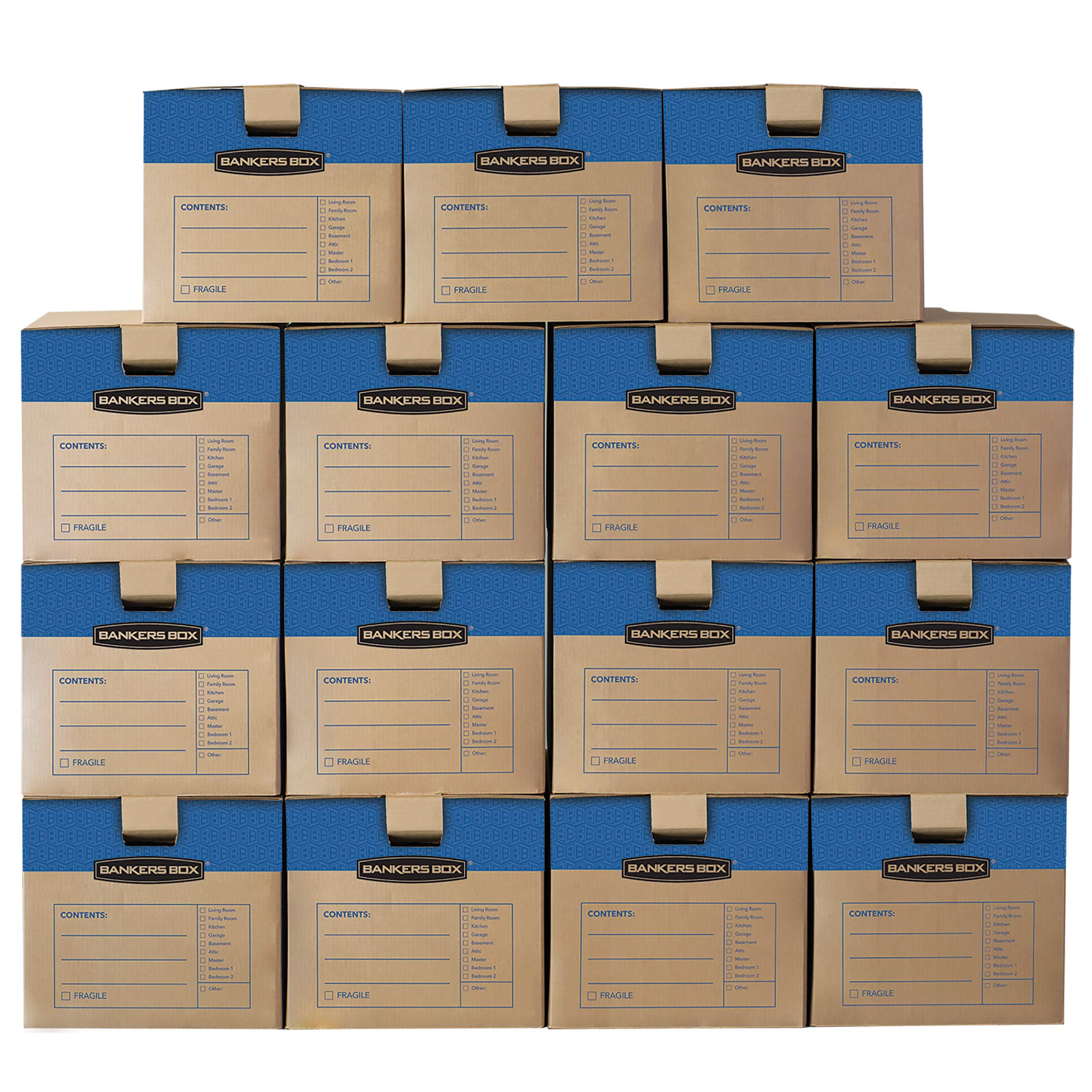 Bankers Box SmoothMove Prime Moving Boxes by Bankers Box