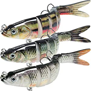 TRUSCEND Bass Trout Fishing Lures