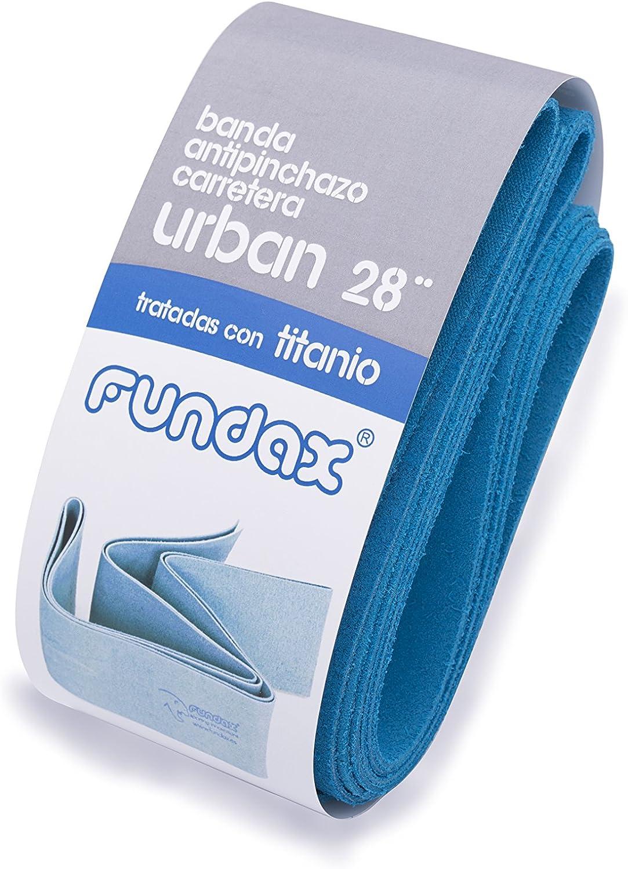 FUNDAX Urban Banda Antipinchazos, Azul, 28