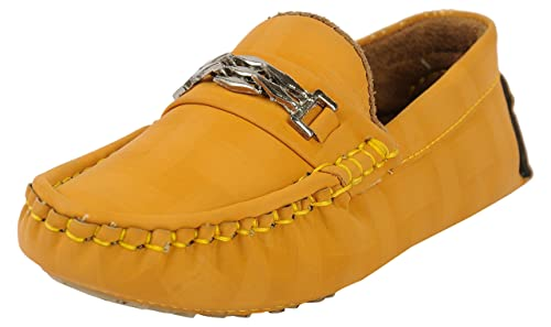 Buy BELLY BALLOT Boys' Yellow Loafers