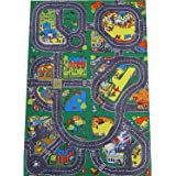 Giant Roadway Playmat (150x100cm) - a fun addition for the bedroom, playroom, nursery or class room!