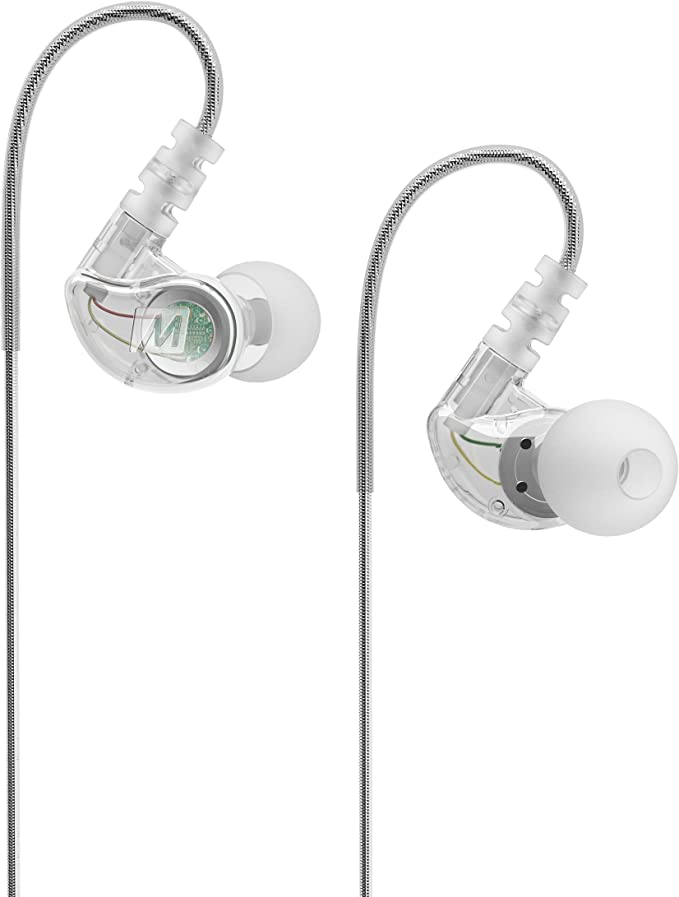 MEElectronics M6-CL - Auriculares in-ear (reducción de ruido, 3.5 ...