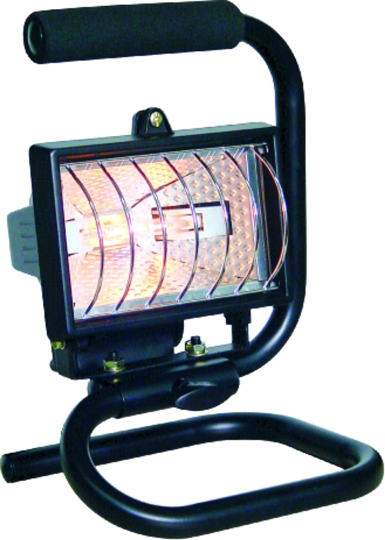 Negro Smartwares 10.036.80 Luz de Trabajo hal/ógeno Exterior 120W port/átil con Cable Enchufe HL120S