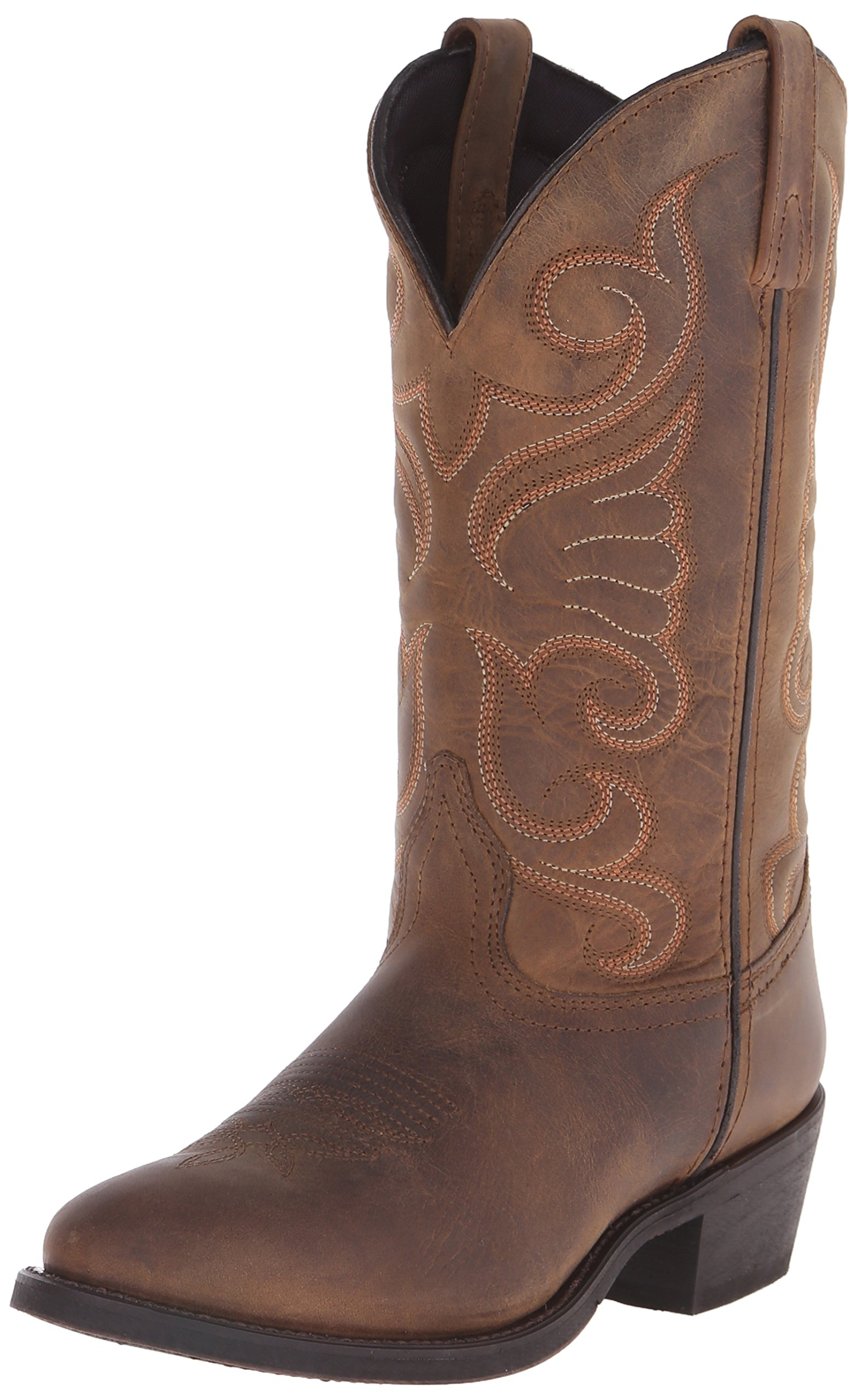 Laredo Women's Bridget Western Boot, Tan, 9 M US