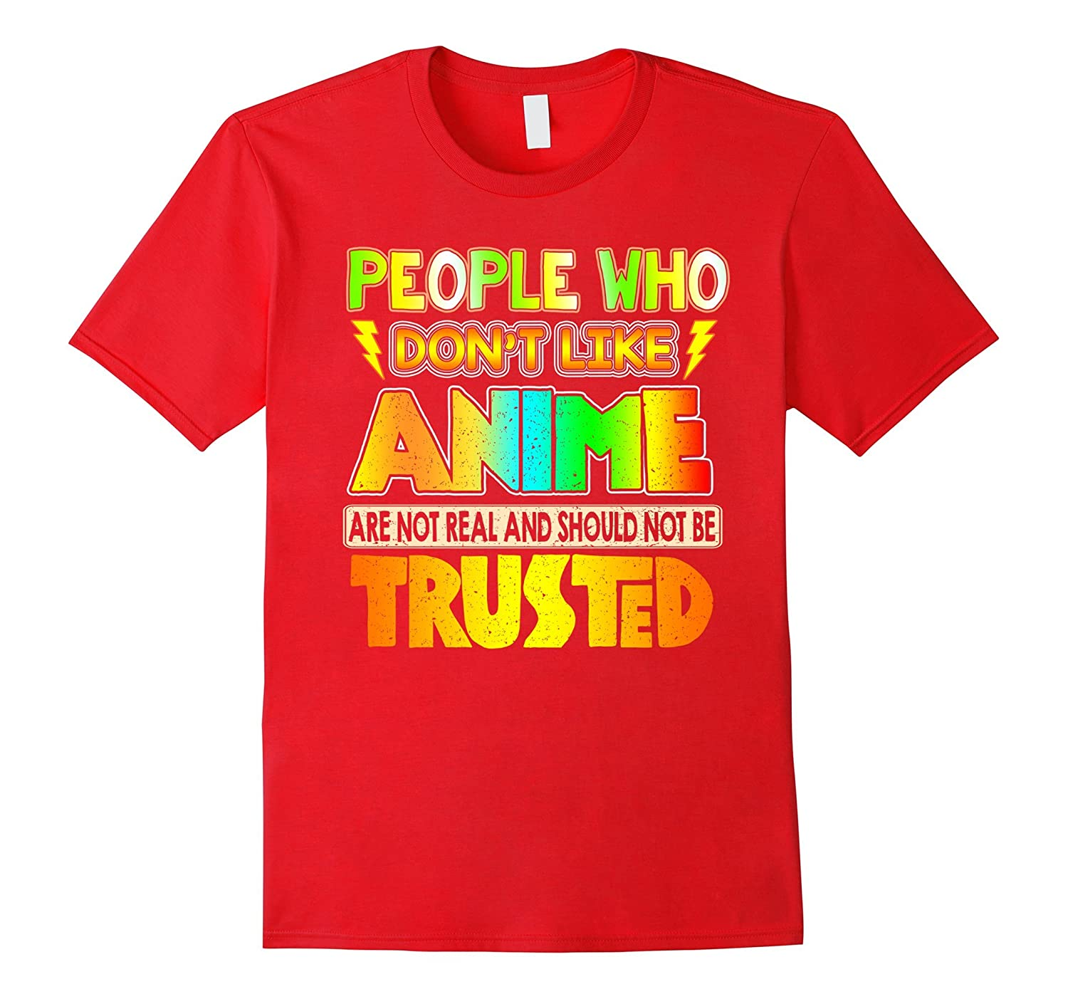 Anime eyes shirt - People who dont like anime T- Shirt-PL