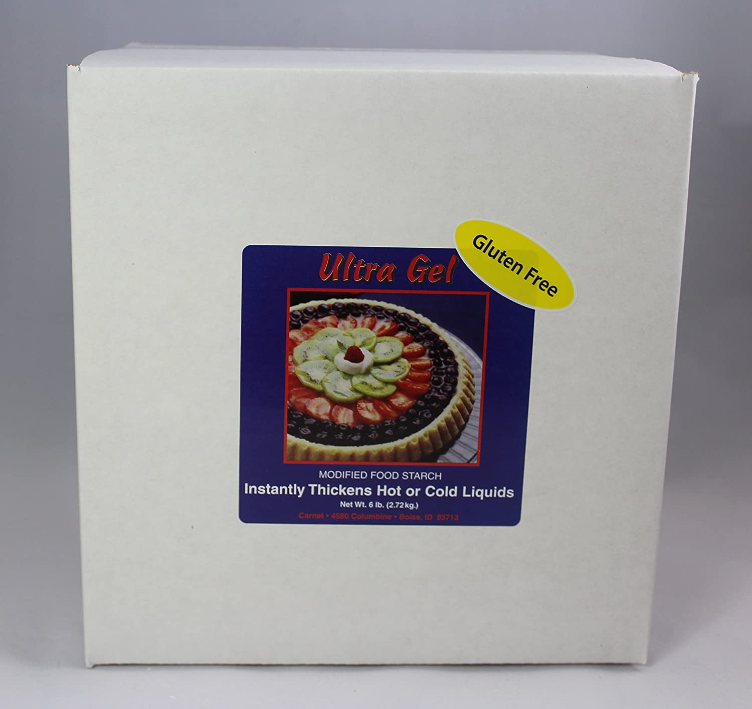6 lb Ultra Gel Gluten-Free Non-GMO Instant Thickener - Great Cook's Choice for 25 years