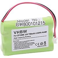 vhbw NiMH batería 700mAh (3.6V) para Monitor