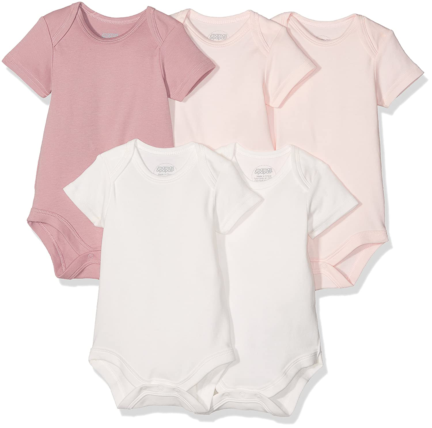 Mamas /& Papas Baby Girls Bodysuit