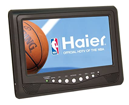 amazon com haier hlt71 7 inch handheld lcd tv 2009 model electronics rh amazon com Haier Portable 7 Inch TV Haier Portable 7 Inch TV